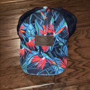 Vineyard Vines Tropical Trucker Hat